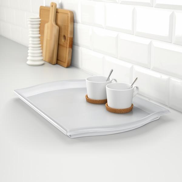 SMULA tray transparent 52 cm 35 cm