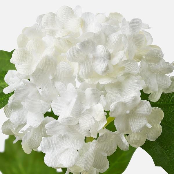 SMYCKA Artificial flower, snowball/white, 60 cm
