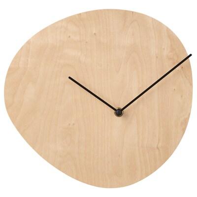 SNAJDARE Wall clock, birch plywood, 28 cm