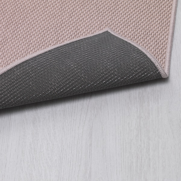 SÖLLINGE Rug, flatwoven, beige, 65x150 cm