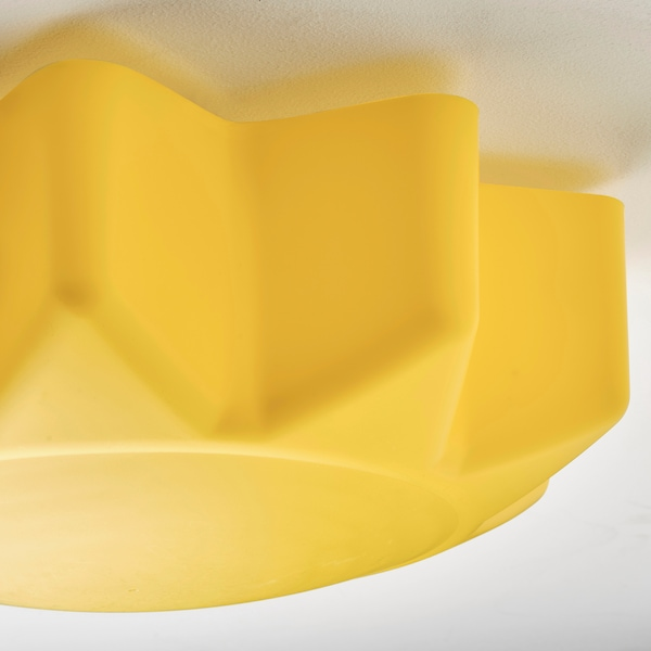 SOLHEM ceiling lamp yellow sun 13 W 13 cm 35 cm
