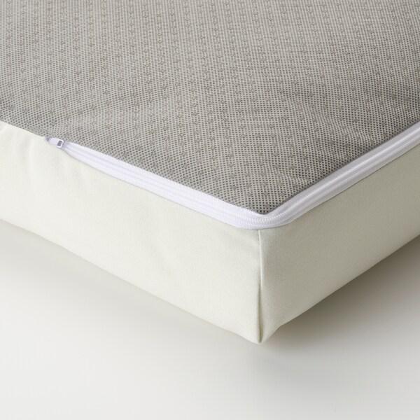 SOLLERÖN Modular corner sofa 3-seat, outdoor, dark grey/Kuddarna beige