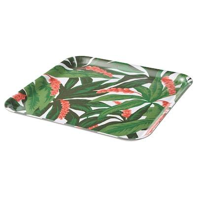 SOMMARLIV tray multicolour 33 cm 33 cm