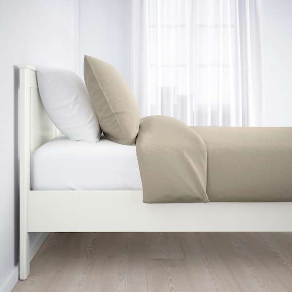 SONGESAND bed frame white 207 cm 153 cm 41 cm 95 cm 20 cm 200 cm 140 cm