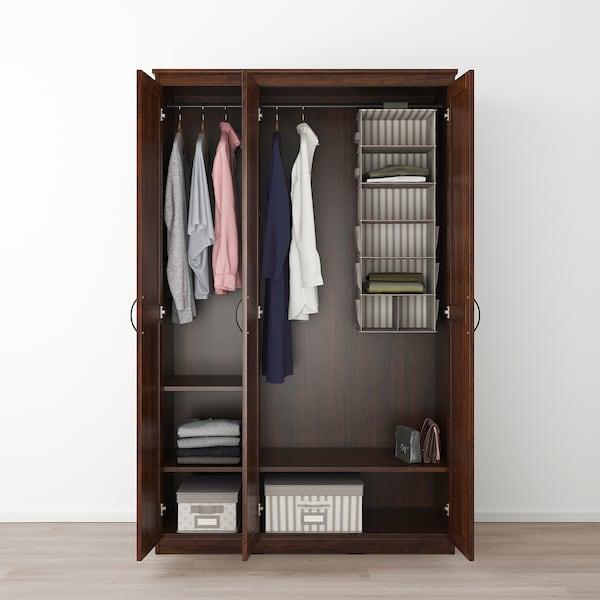 SONGESAND wardrobe brown 120 cm 60 cm 191 cm