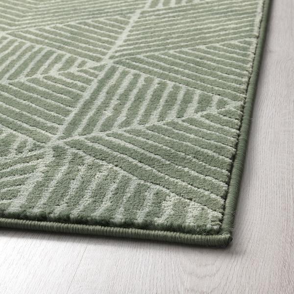 STENLILLE rug, low pile green 240 cm 170 cm 12 mm 4.08 m² 2050 g/m² 700 g/m² 9 mm 10 mm