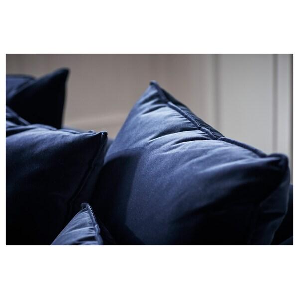 STOCKHOLM 2017 three-seat sofa Sandbacka dark blue 228 cm 112 cm 72 cm 72 cm 190 cm 97 cm 46 cm