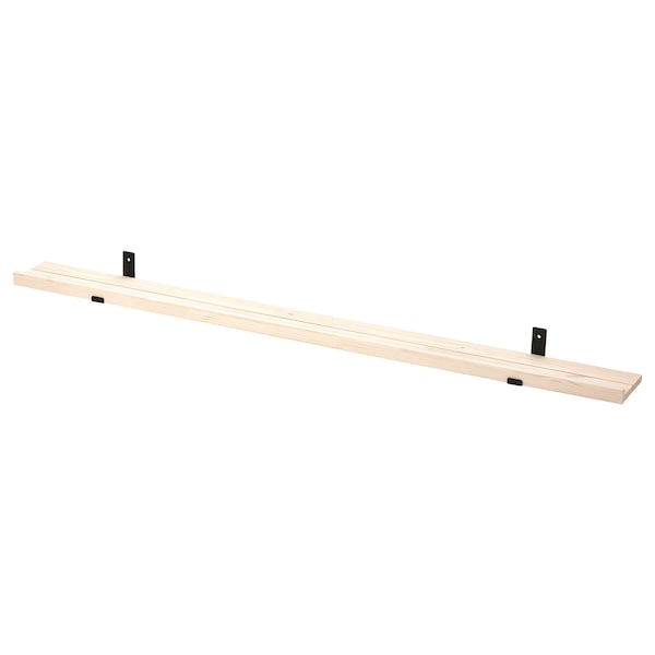 STÖDSTORP Picture ledge, white stained, 115 cm