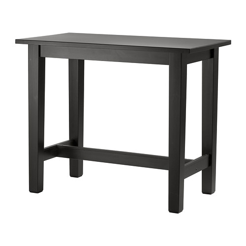 Stornäs Bar Table Brown Black