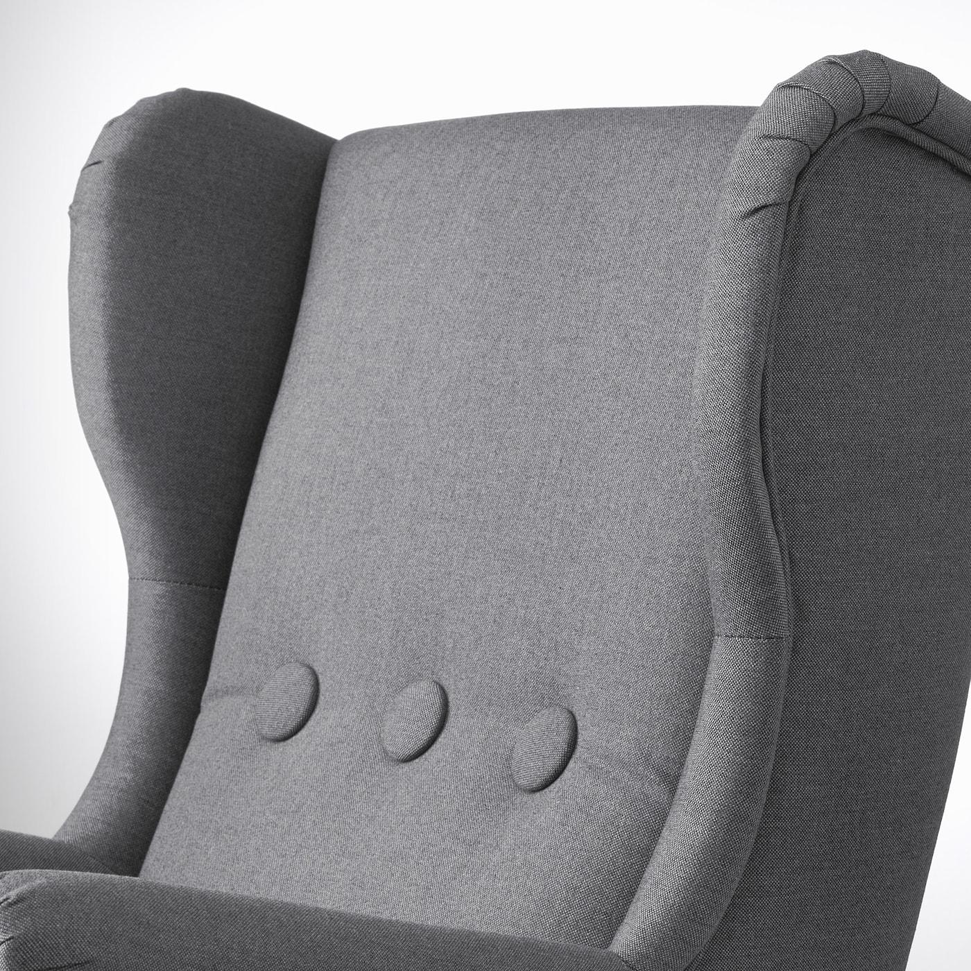 STRANDMON children's armchair Vissle grey 56 cm 62 cm 71 cm 44 cm 41 cm 28 cm