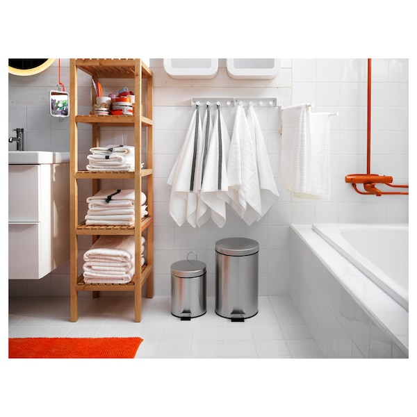 STRAPATS pedal bin stainless steel 41 cm 25 cm 11.5 l