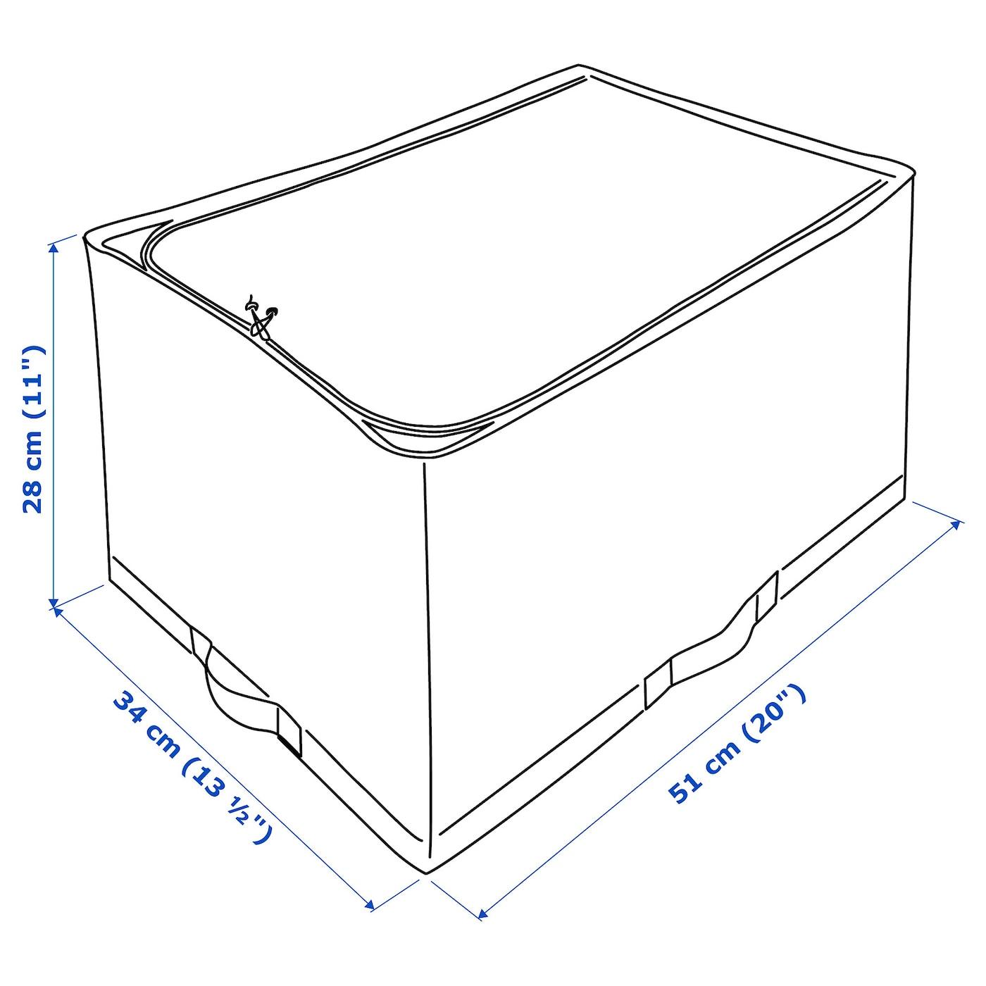 STUK - Storage case, white/grey