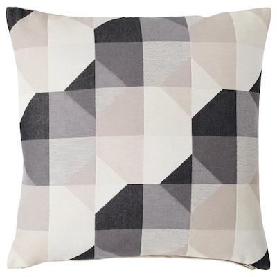 SVARTHÖ Cushion cover, beige, 50x50 cm