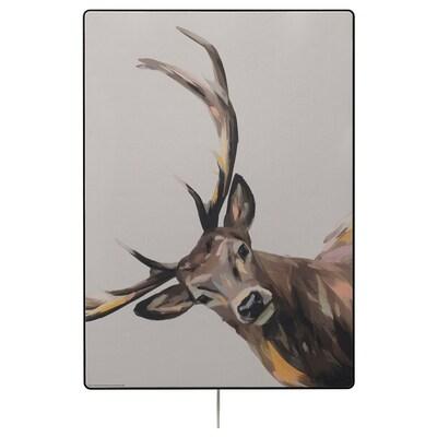 SYMFONISK Panel for picture frame speaker, bright & deerful