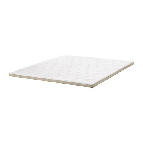 Dekmatras Ikea 160 X 200.Tistedal Mattress Pad Natural