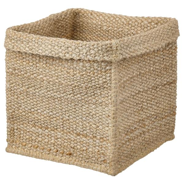 TJILLEVIPS basket jute 30 cm 30 cm 35 cm