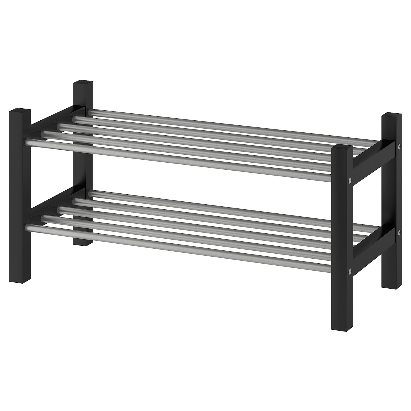 Tjusig Shoe Rack Black 79 Cm Ikea