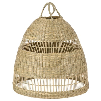 TORARED Pendant lamp shade, sedge/handmade, 36 cm