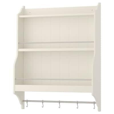TORNVIKEN plate shelf off-white 80 cm 20 cm 100 cm