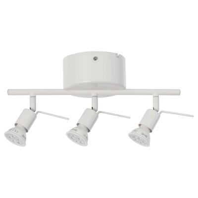 TROSS Ceiling track, 3-spots, white