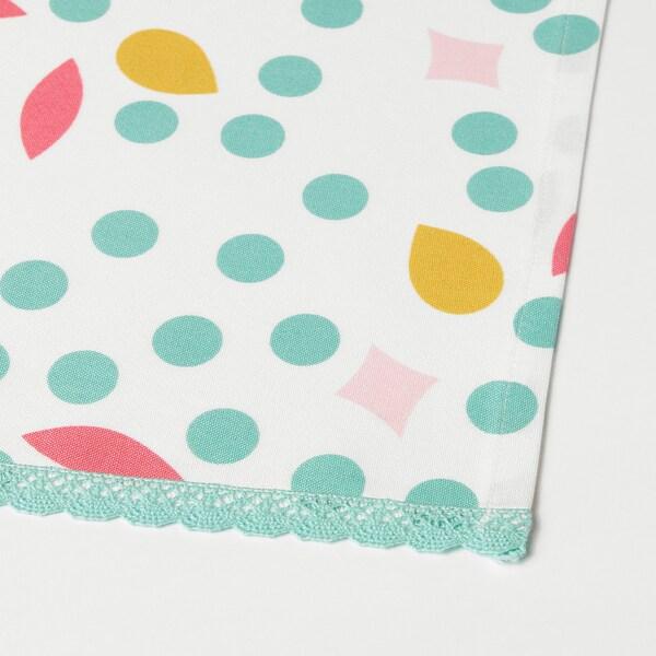 UDDIG tea towel light pink/dotted 70 cm 50 cm 2 pack