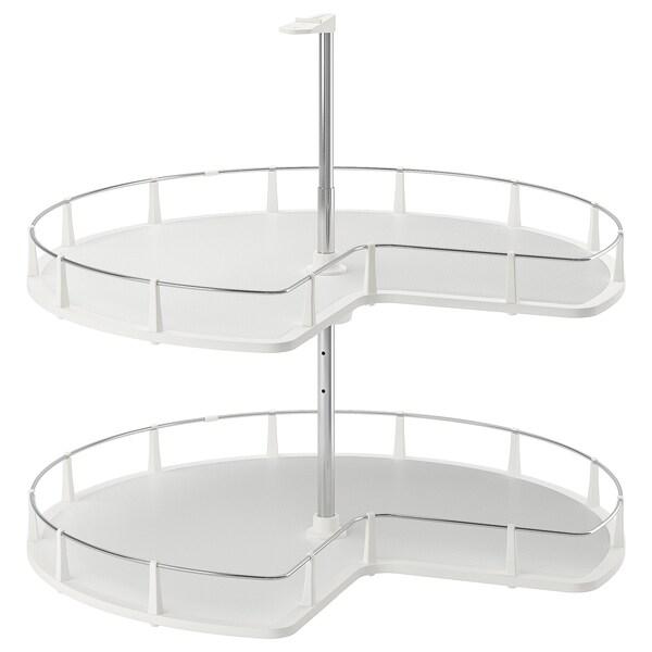 UTRUSTA Corner base cabinet carousel, 88 cm