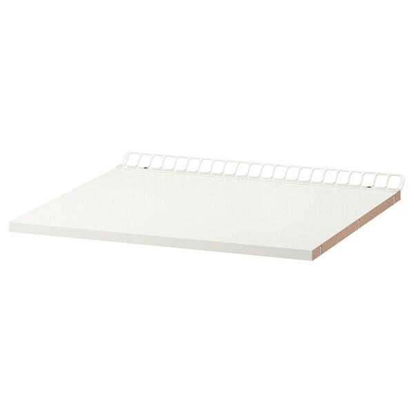 UTRUSTA Fixed ventilated shelf, white, 60x60 cm