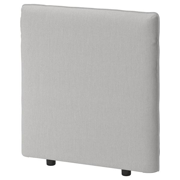VALLENTUNA Backrest, Orrsta light grey, 80x80 cm