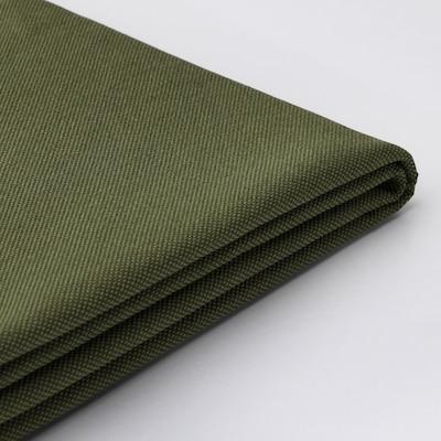 VALLENTUNA cover for back cushion Orrsta olive-green 80 cm 13 cm 60 cm