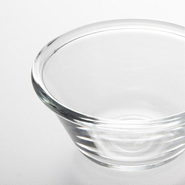 VARDAGEN Bowl, clear glass, 12 cm