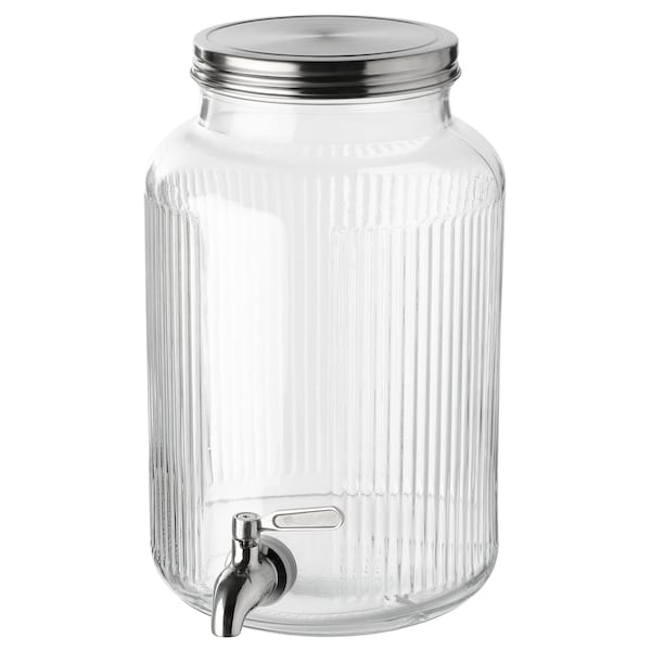 VARDAGEN jar with tap 18 cm 29 cm 5.0 l