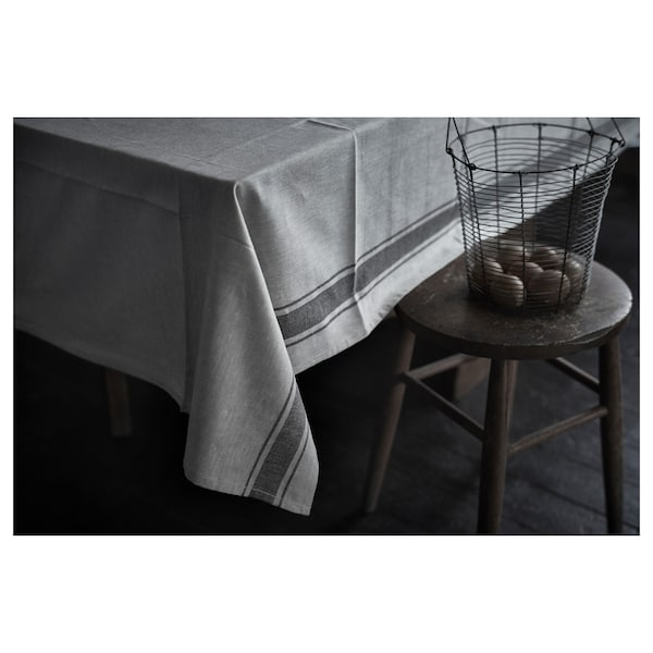 VARDAGEN Tablecloth, beige, 145x320 cm