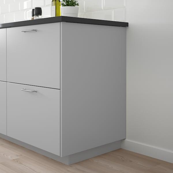 VEDDINGE Cover panel, grey, 62x240 cm