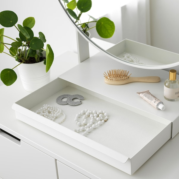 VENNESLA table mirror white 65 cm 79 cm 65 cm