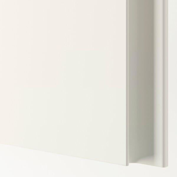 VIKANES Door, white, 50x229 cm