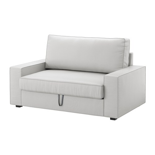 Vilasund Two Seat Sofa Bed Orrsta Light Grey Ikea