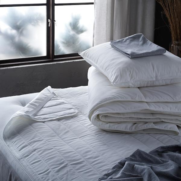 VILDKORN Pillow, high, 50x60 cm