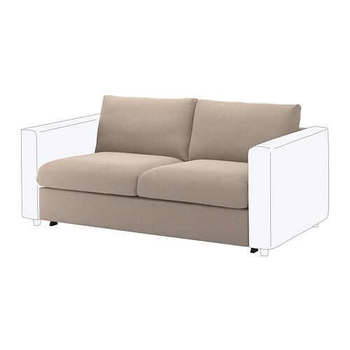 Seats And Sofas Slaapbank.Vimle 2 Seat Sofa Bed Section Tallmyra Beige Ikea