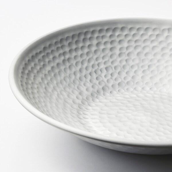 VINDFLÄKT decorative bowl silver-colour 5 cm 27 cm