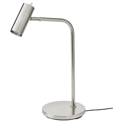 VIRRMO Work lamp, nickel-plated, 54 cm
