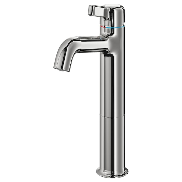 VOXNAN wash-basin mixer tap, tall chrome-plated 30 cm