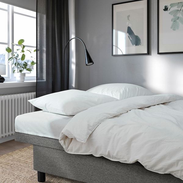 ASARUM Sofá-cama de 3 lugares, cinz