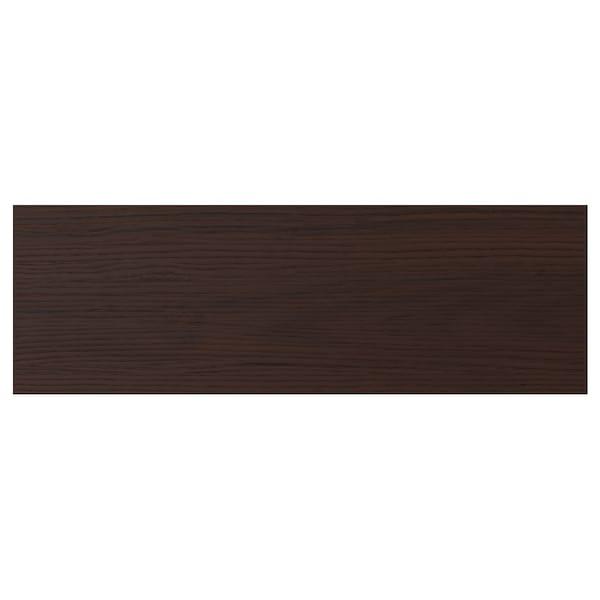 ASKERSUND Frente gaveta, castanho escuro efeito freixo, 60x20 cm