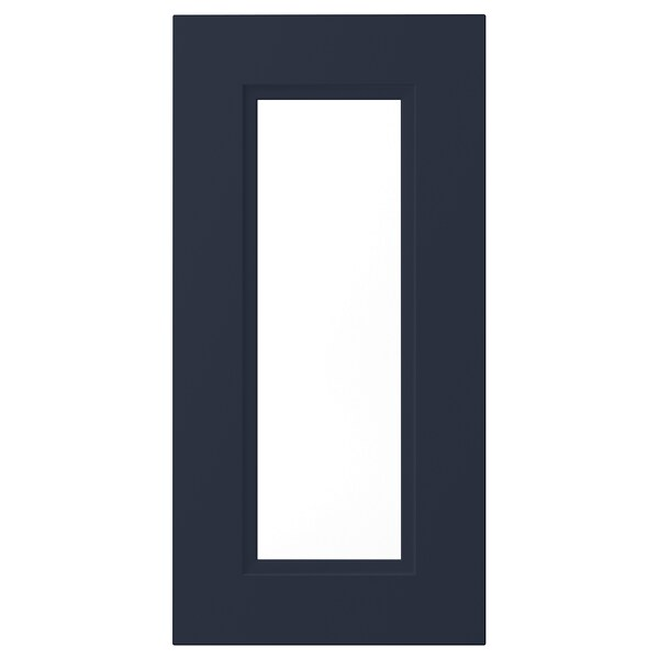 AXSTAD Porta de vidro, mate azul, 30x60 cm
