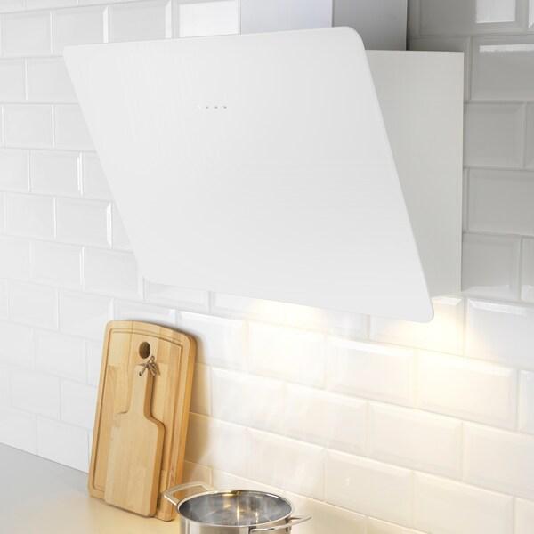 BEJUBLAD Exaustor de parede, branco, 66 cm