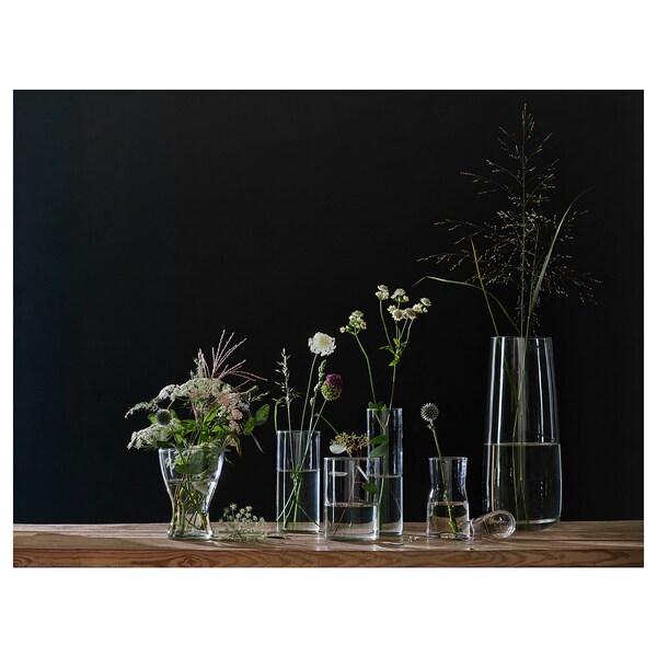 BERÄKNA Jarra, vidro transparente, 45 cm