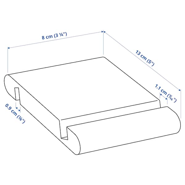 BERGENES Suporte p/telemóvel/tablet, bambu
