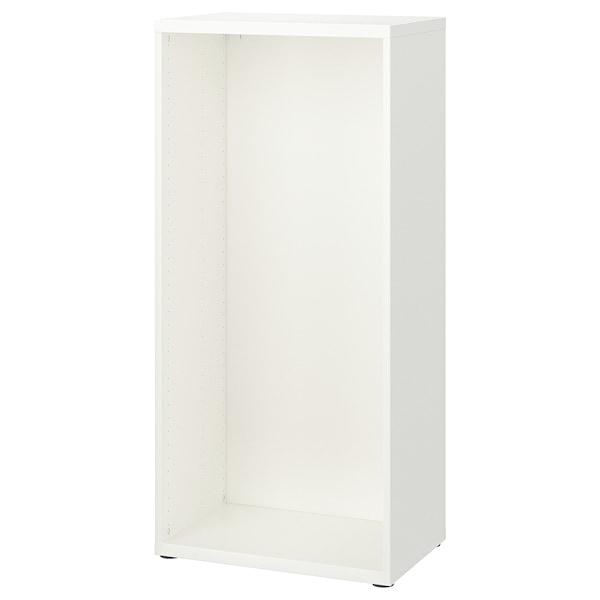 BESTÅ Estrutura, branco, 60x40x128 cm