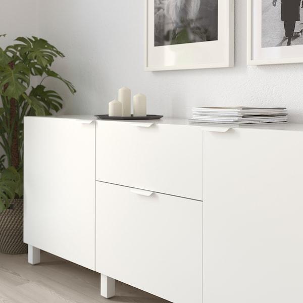 BILLSBRO Puxador, branco, 120 mm