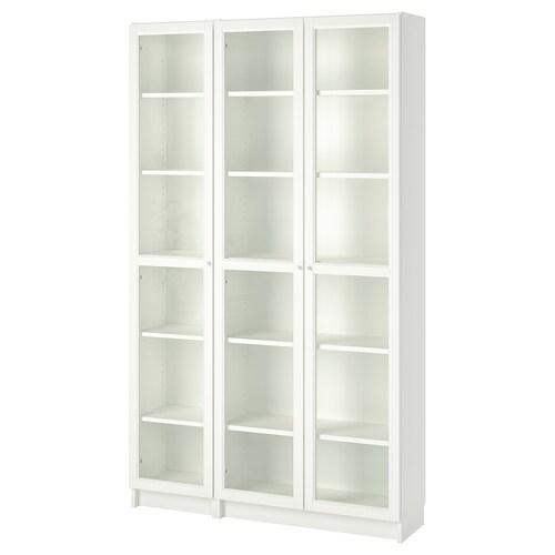 IKEA BILLY / OXBERG Estante c/portas de vidro
